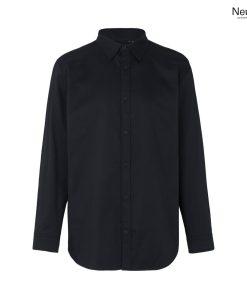 Ekologisk arbetsskjorta i svart