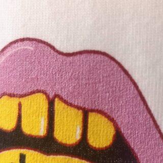 Fint detaljerat tryck från grymma kläddesignern@idaklamborn! 💚 4-färgs screentryck utan PVC och ftalater. 💚 #idaklamborn#sustaniblefashion#ekologiskt#rättvisemärkt#veganskt#screentryck#gronatryck