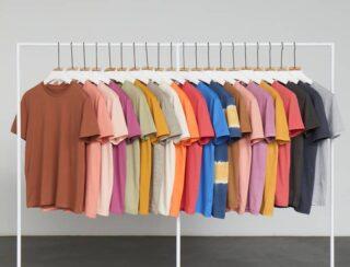 Höstfärger! Vår mest populära ekologiska & rättvisemärkta t-shirt finns nu i hela 80 färger! ❤️🧡💛💚💙💜🤎🖤 Se modellen genom att klicka på länken i bio. 💚 #gronatryck #stst #screentryck #brodyr #ekologiskt #rättvisemärkt #vegansk